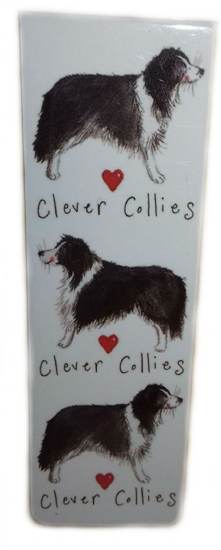 Clever Collies Magnetic Bookmark